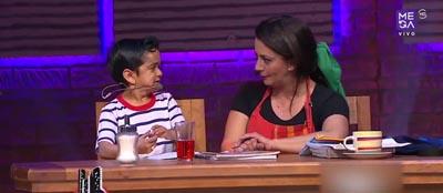 Paola y Miguelito